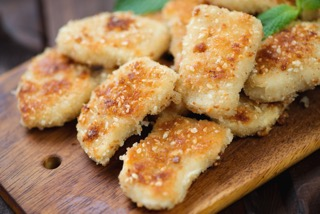Sesame Ginger Chicken Nuggets